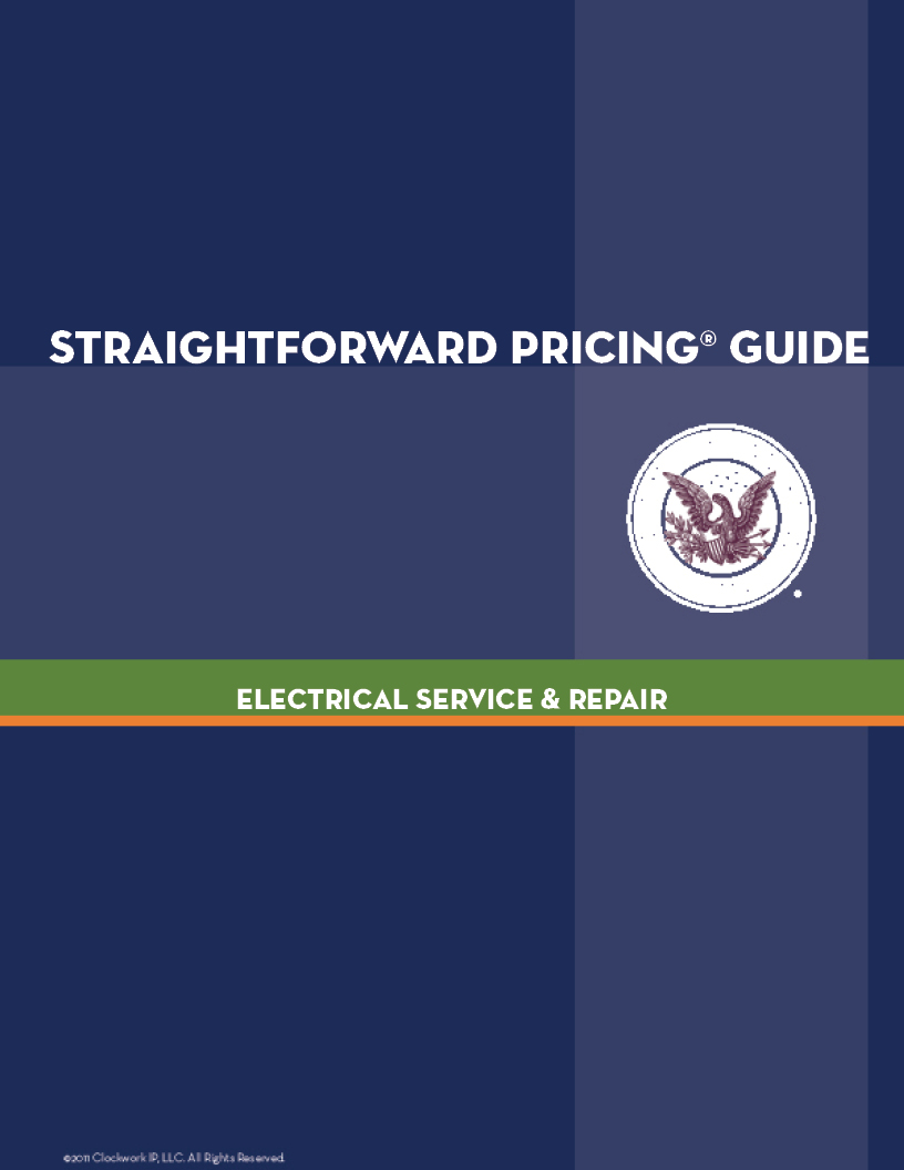 Free TRAINING on StraightForward Pricing—Wednesday, November 12